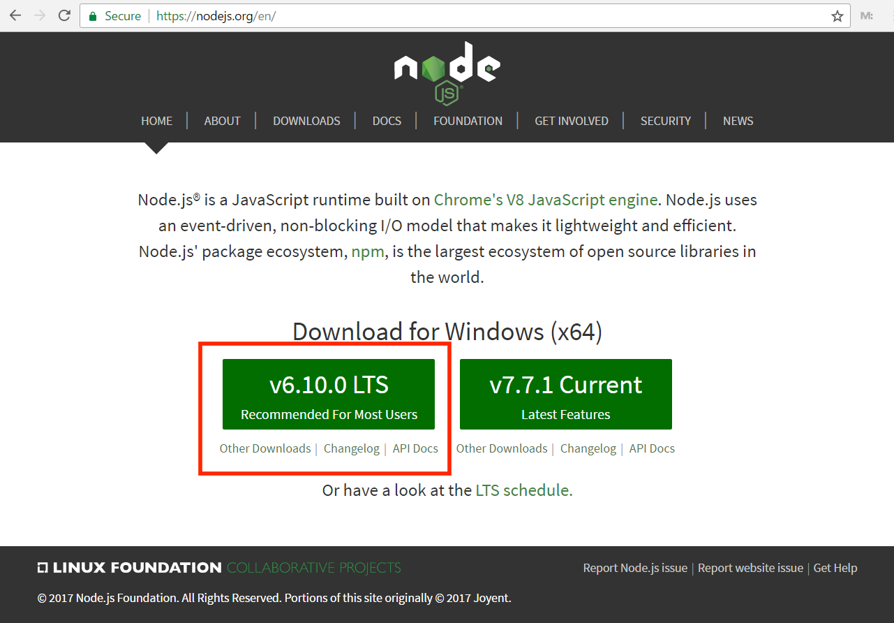 Install Node js and NPM on Windows - William Vincent