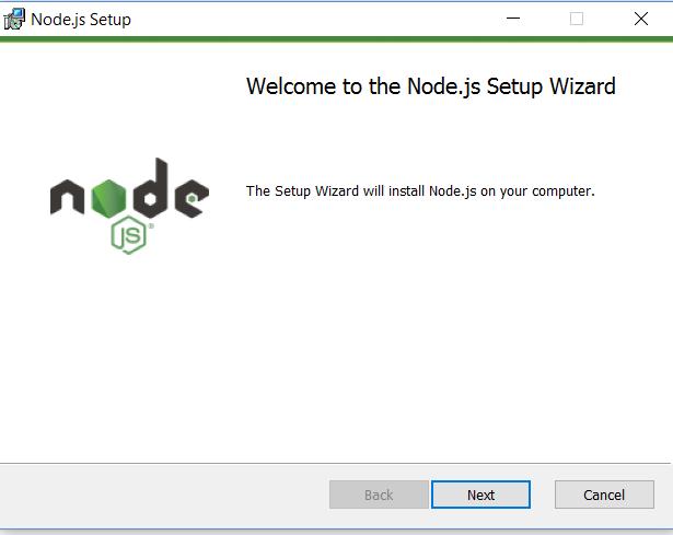 Node Setup Wizard