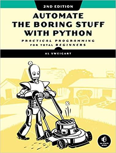 Automate the Boring Stuff book