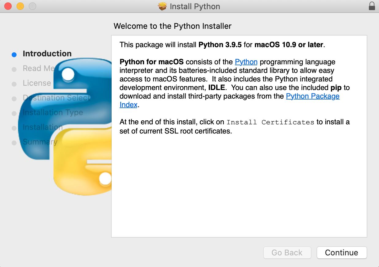 Python Installer